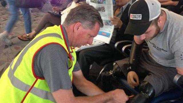 img-Iowa veteran talks about airport repair