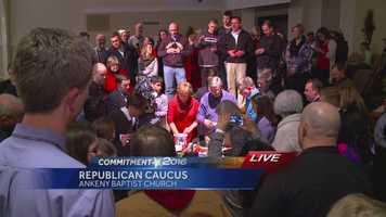 Caucus count underway in Ankeny