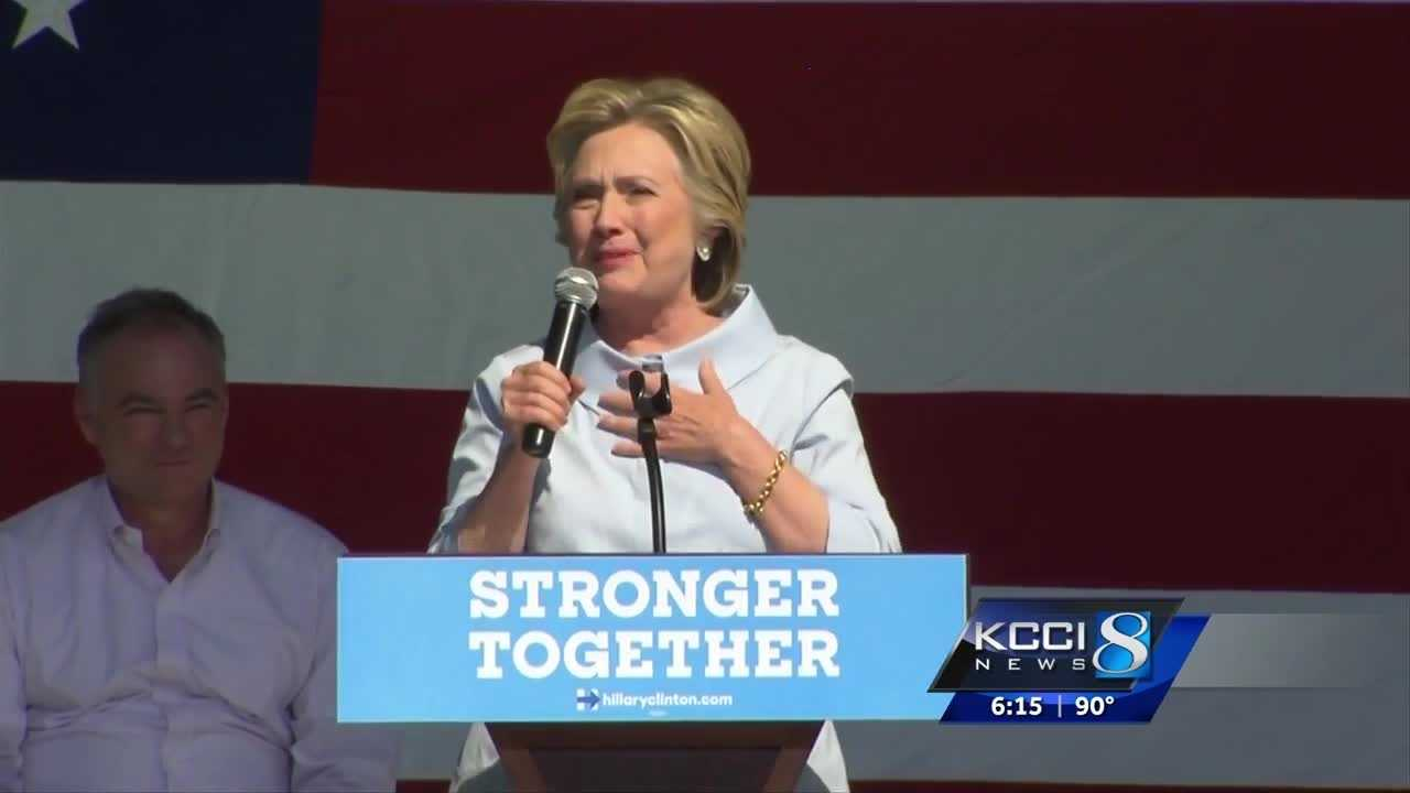 Clinton asks voters to 'do homework' before casting votes