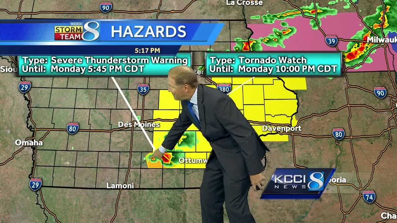 Videocast: Severe weather sweeps across Iowa