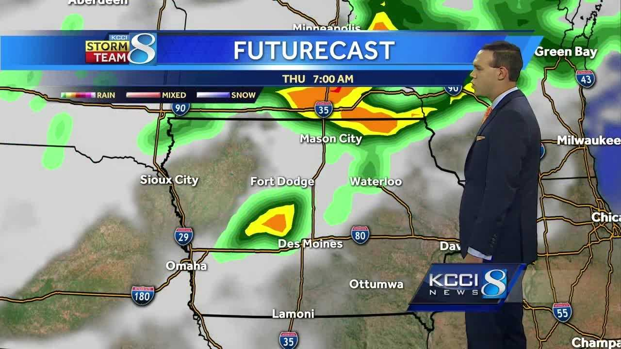 Videocast: Storms to start the day