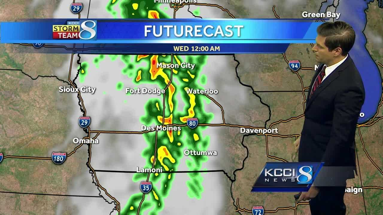 Videocast: Storm system slowly pushes through the state