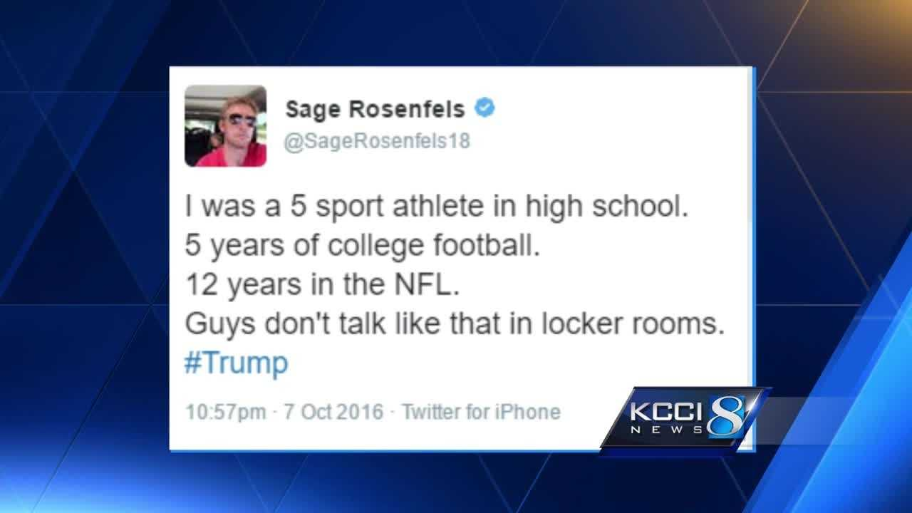 Iowans react to Trump's 'locker room talk'