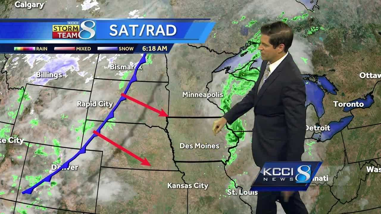 Videocast: More rain, freeze chances arrive with cold front