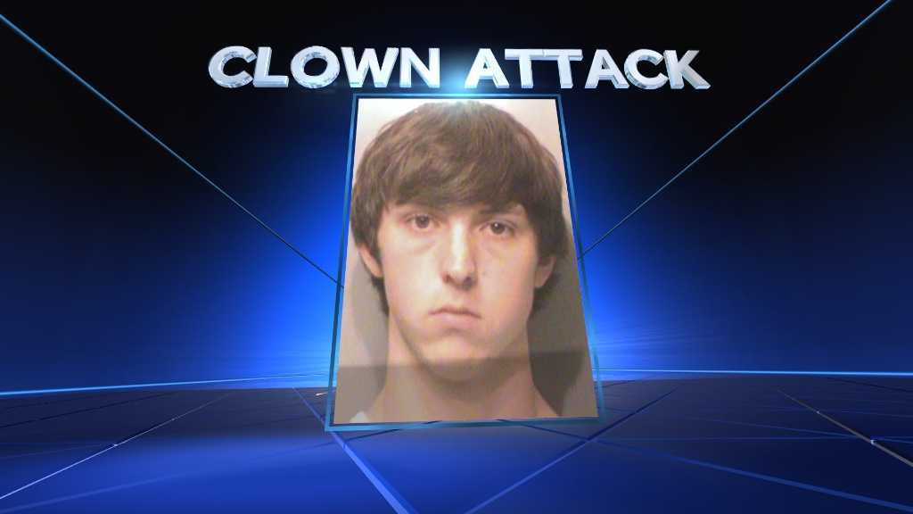 Clown arrest
