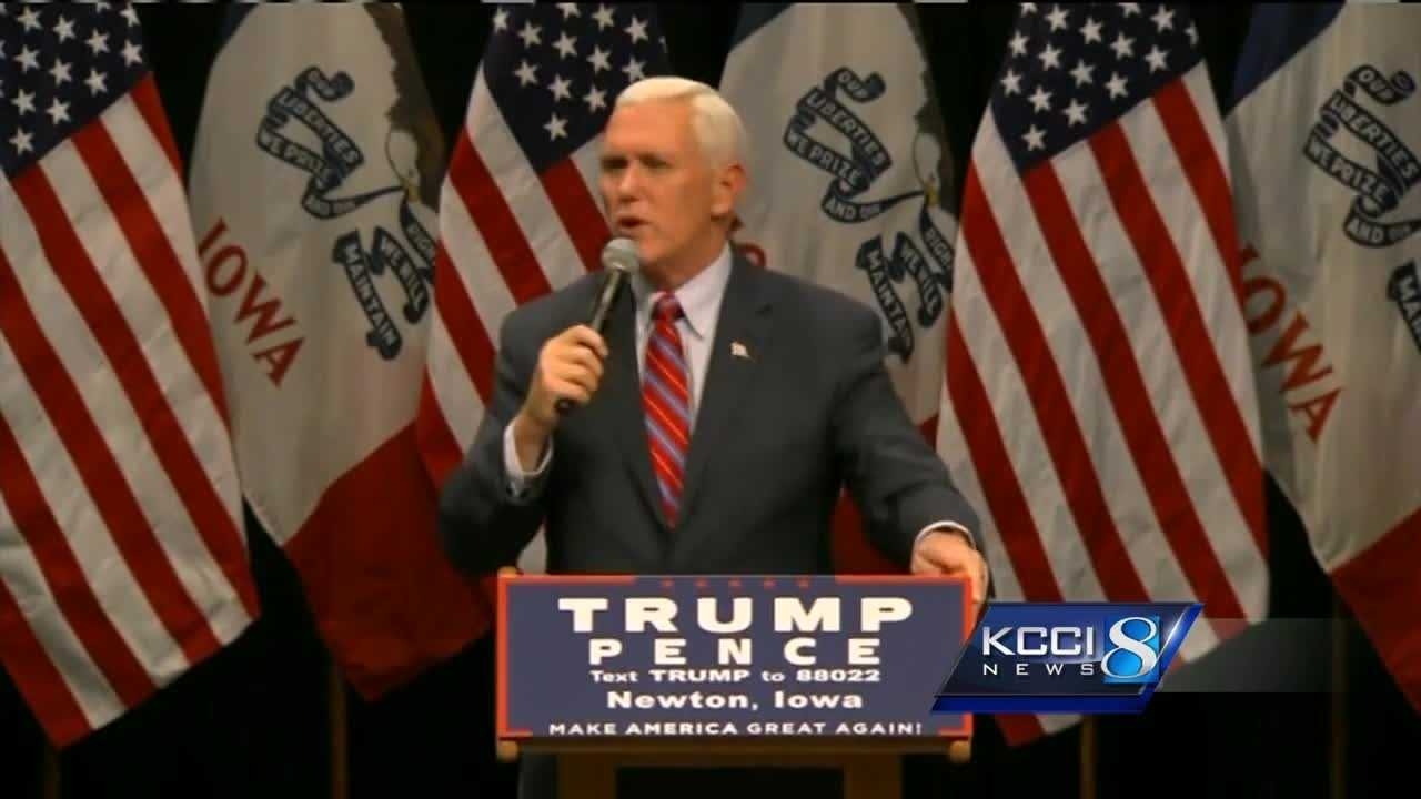 Clinton has big cash lead; Pence says message matters more