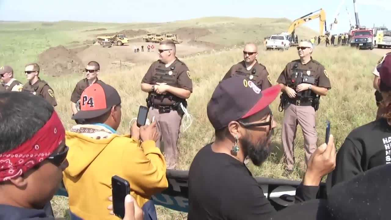 ND ranchers fed up with pipeline protesters