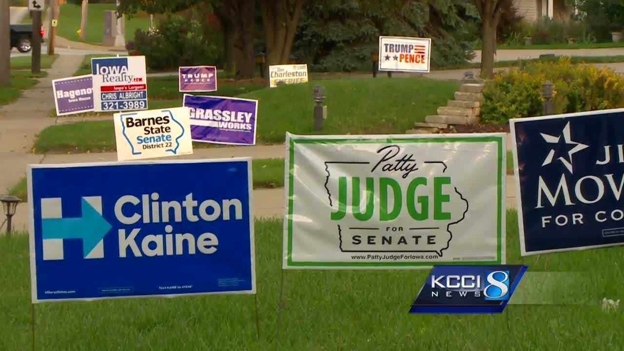 Yard sign shortage could reflect political dissatisfaction