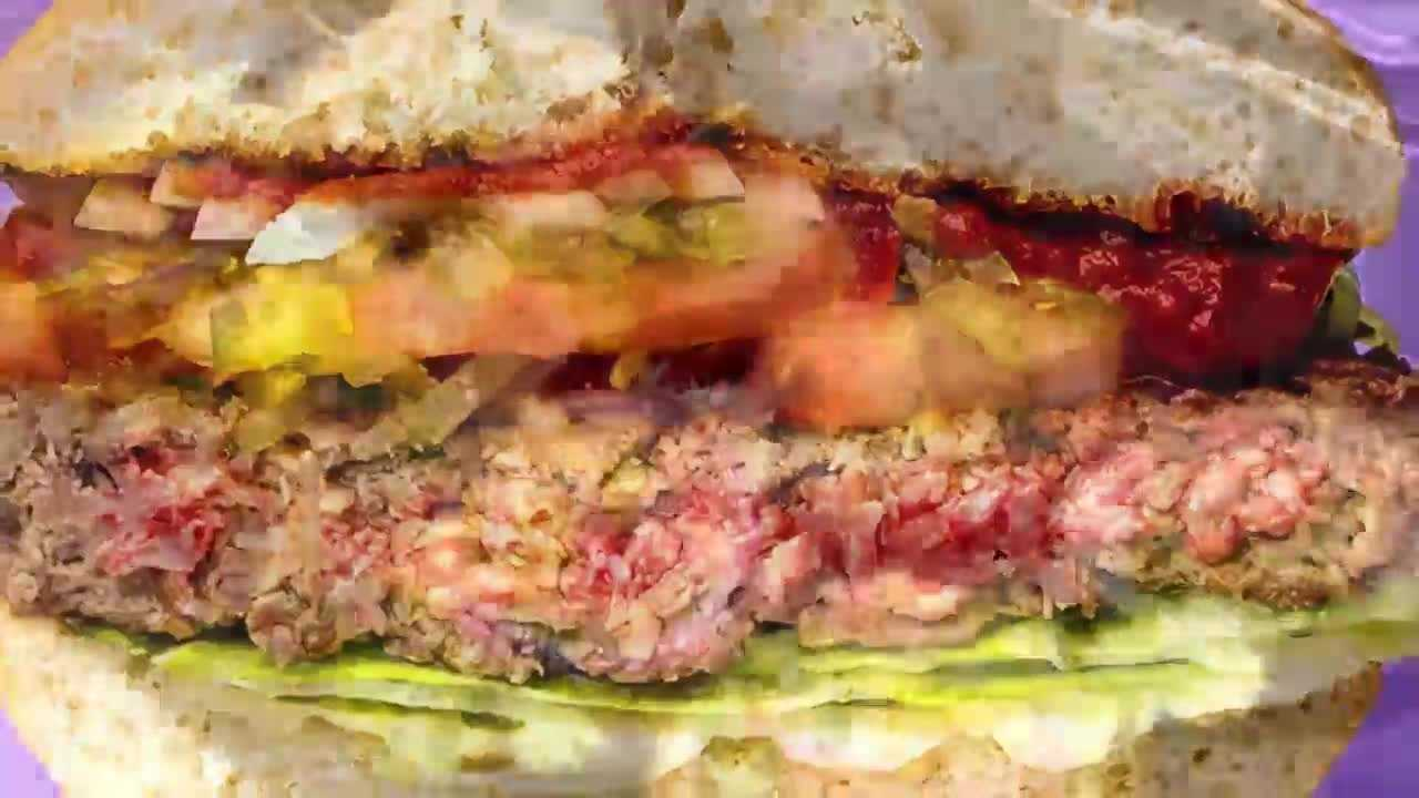 It looks like a burger, smells like a burger and even bleeds like one. So where's the beef? The Impossible Burger is a plant-based patty that made its debut on the San Francisco dining scene Thursday. Suzie Steimle reports.