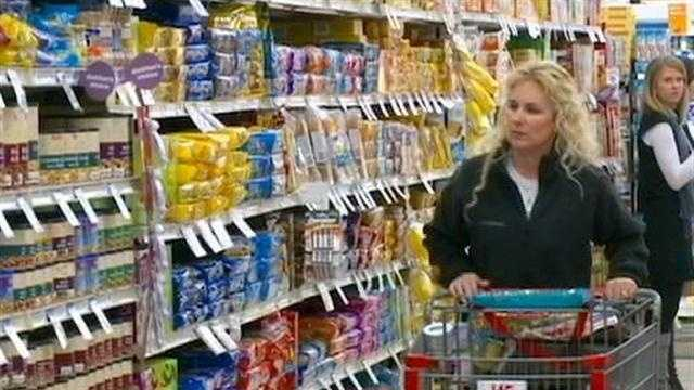 Shopping Grocery Generic Woman Cart - 29728835