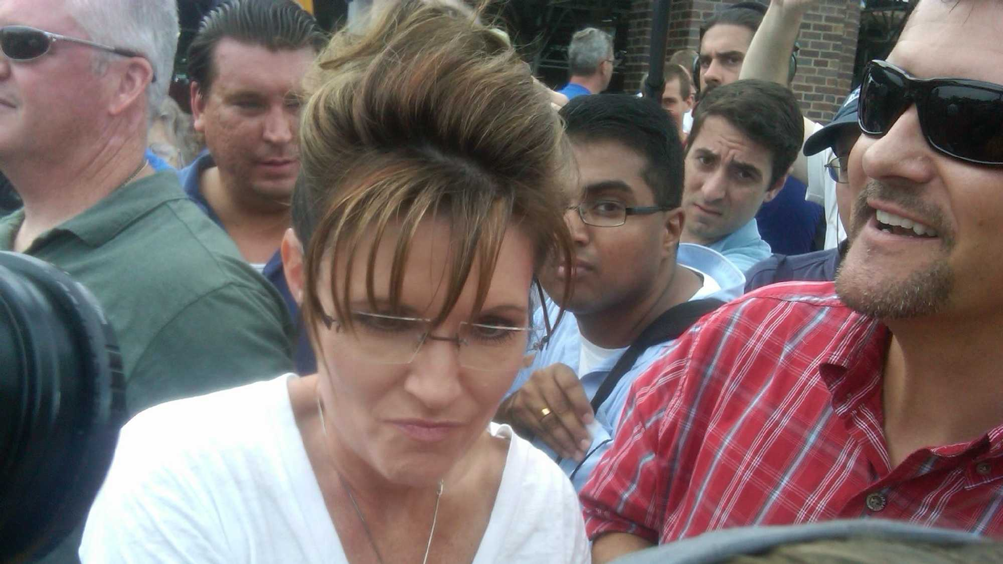 Palin At Iowa State Fair - 28848263
