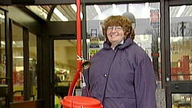 Salvation Army Bell Ringer (no snow) - 21554700