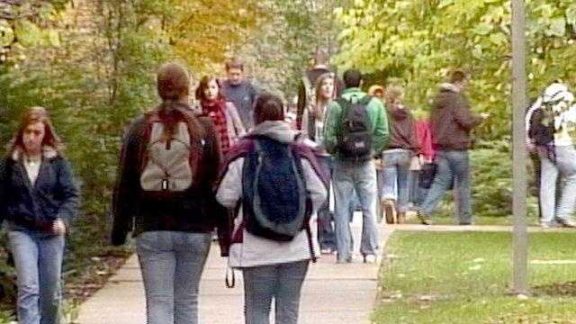 ISU students walk campus ames generic - 17979742