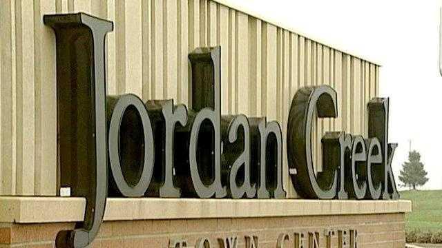 Jordan Creek Town Center in West Des Moines