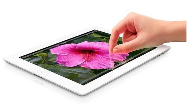 New HD iPad