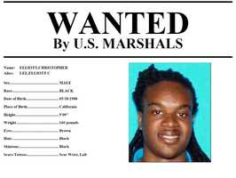 Christopher Elliott: Elliott is wanted for suspicion of assault with a weapon, according to U.S. Marshals. Anyone with knowledge of his whereabouts should call 916-930-2030.Click here to view enlarged image.