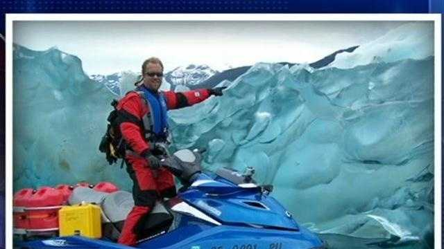 KCRA 3's Deirdre Fitzpatrick chats with Steven Moll about his sea-doo adventure and being stuck in Alaska.