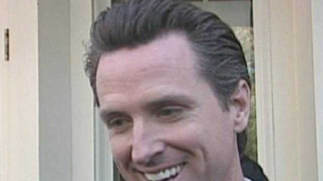 S.F. mayor Gavin Newsom - 15707564