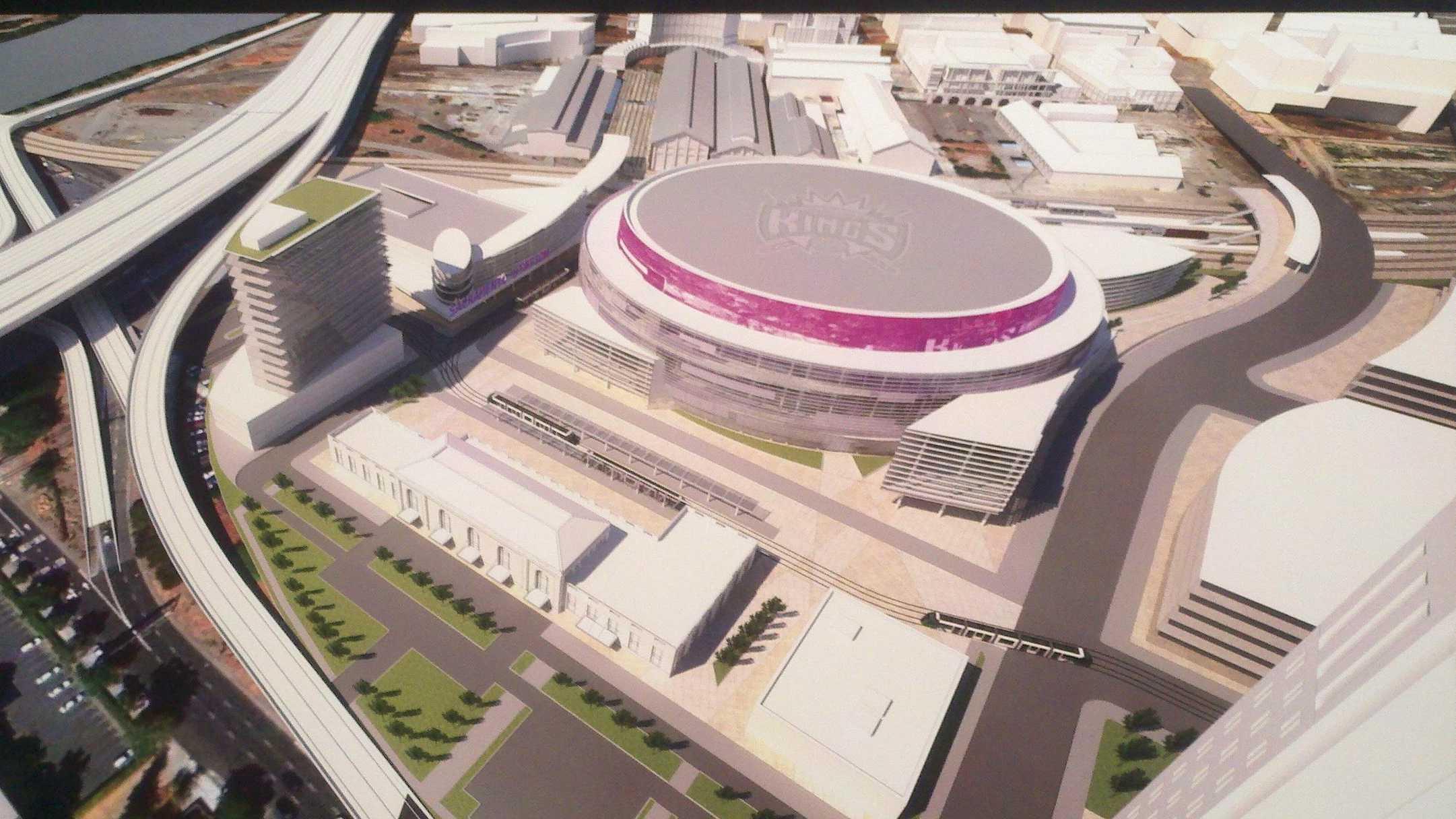 Sacramento arena sketches