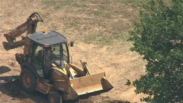 Investigators have been digging at several spots in and around Linden after receiving information from convicted killer Wesley Shermantine.