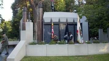 A Vietnam veterans tribute was held Sunday.