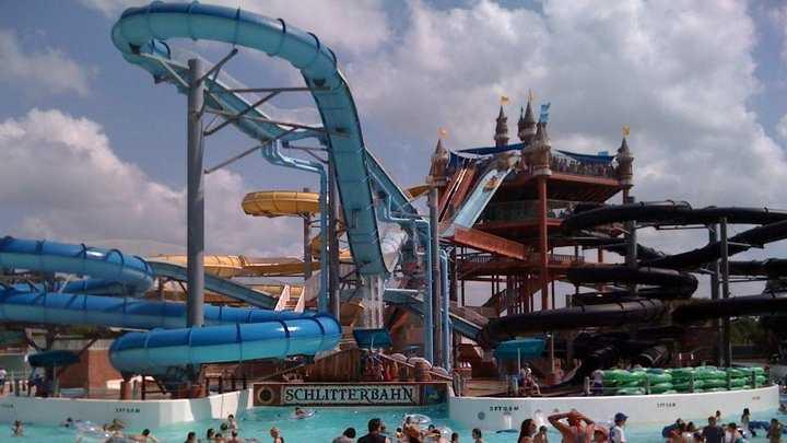 Schlitterbahn Waterpark New Braunfels, Texas