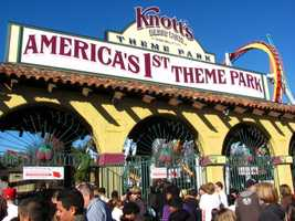 Knott's Berry Farm - Buena Park, CAAdult Online:  $36.99 / Gate:  $57.99Jr./Sr. Online:  $26.99 / Gate:  $28.99Parking: $15