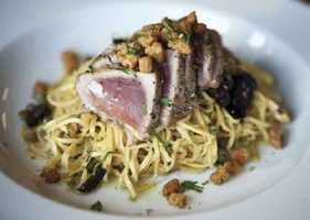 Pasta Moon Ristorante and Bar offers dazzling Italian cuisine in a rustic yet elegant setting in Half Moon Bay.