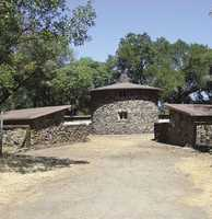 The pig palace was constructed to house Jack London's prized Duroc-Jersey hogs