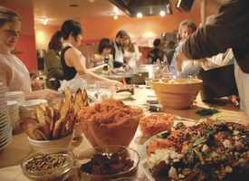 Kitchen on Fire: Kitchen on Fire is a cooking school that offers classes, demonstrations and lectures. True to the Berkeley ethos, it works principally with organic food and supports organic local small growers and winemakers. After a day of ambling through Gourmet Ghetto, take an Italian breadmaking class or join a hands-on paella party.