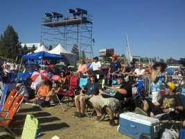 An estimated 40,000 people attended the festival on Saturday, and an even larger crowd was expected Sunday. Sharokina Shams/KCRA
