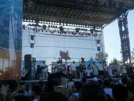 The festival included live entertainment and BMX bike stunts. Sharokina Shams/KCRA
