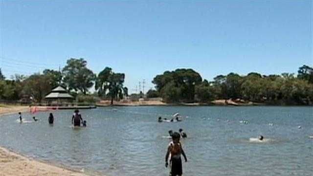After being closed for more than a week because of poor water conditions Lodi Lake is once again open.