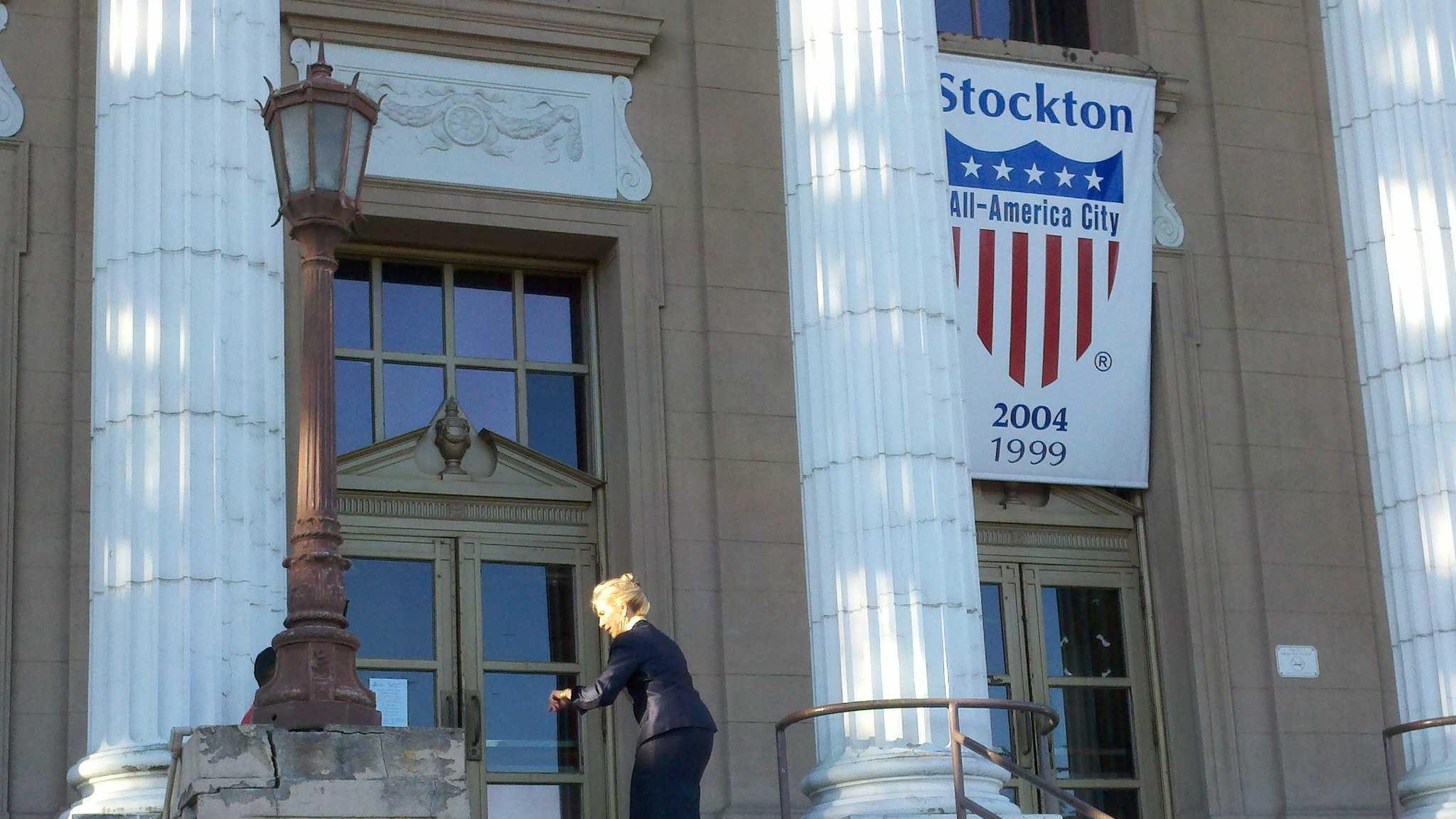 Stockton Mayor Ann Johnston