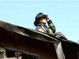 A five-alarm fire in Vallejo that involved a home Thursday quickly spread to second home.