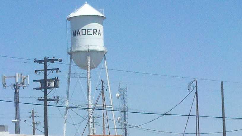 Madera water tower