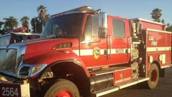 Cal Fire Truck