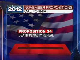 """Death Penalty Repeal. Initiative Statute."" Source: www.sos.ca.gov"