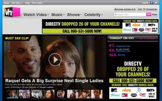 VH1 is unavailable to DirecTV customers.