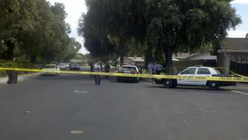 Shooting (Tuesday) - Modesto police said officers shot a man inside his home after he pulled out a knife while being questioned in connection with a prior crime.