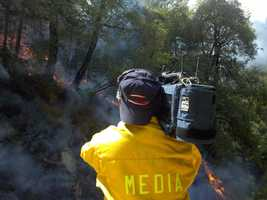Robbers Fire Day 2 (Thursday) -Due to shifting winds, the Robbers Fire is now burning in both directions -- toward Colfax and Foresthill, the California Department of Forestry and Fire Protection said late Thursday afternoon.