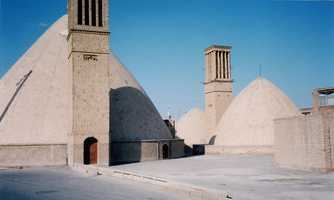 Medieval Persians used wind towers, which worked kind of like a reverse chimney. Tall windows captured wind, which was funneled into and circulated around homes, according to history.com.