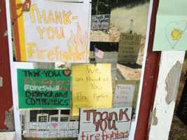 Tuesday 'Thank you'Thank you messages come pouring in as Placer County and Cal Fire officials announce most of the couple hundred people evacuated because of the Robbers Fire will be allowed to return home Wednesday.