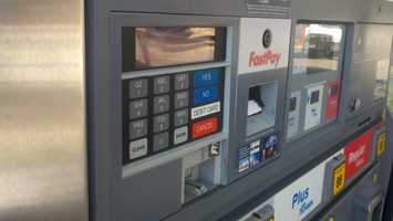 Three people were arrested in Sacramento County on Thursday, accused of skimming thousands of credit card numbers at gas pumps.