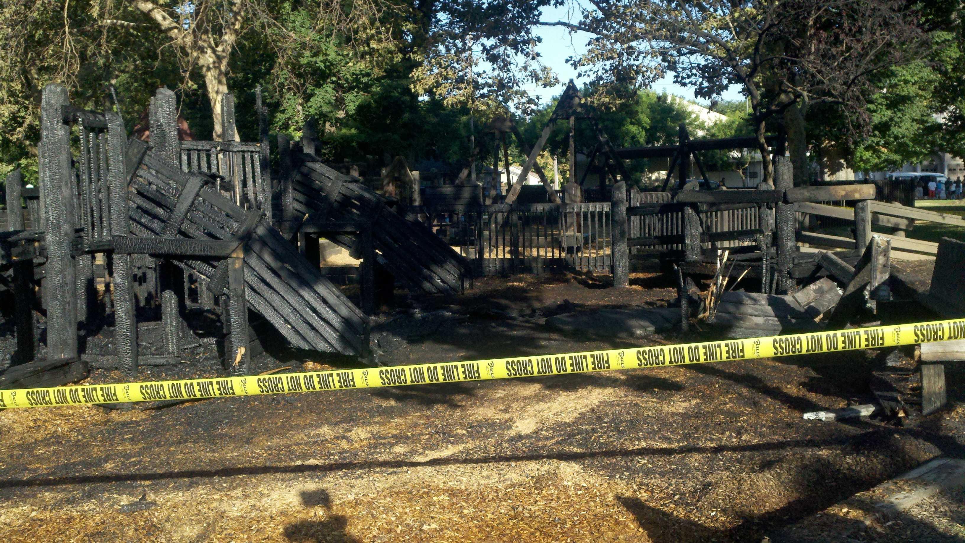 McKinley Park fire