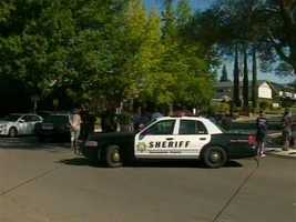 Deputies were involved in a standoff Thursday with a man who barricaded himself inside a home, armed with a rifle and shotgun, sheriff's officials said.