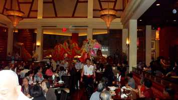 Inside the Red Lantern.