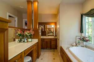 Here's a look inside the bathroom.