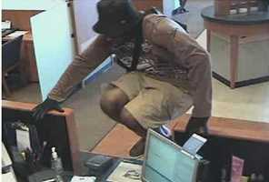 Bank employees at a Chase Bank said two men entered the bank and jumped a bank counter.