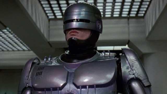 fictional robots - Robocop